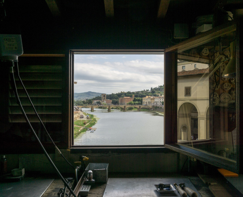 Ponte Vecchio florence gold