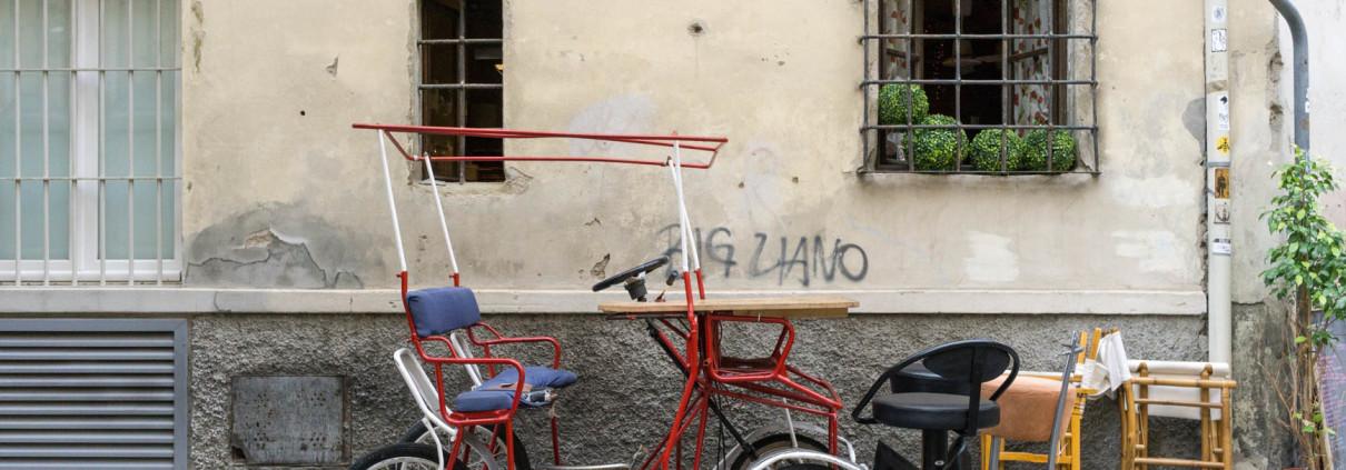 Adorable wheels in Piazza della Passera, Florence